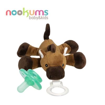 nookums 美國  寶寶可愛造型安撫奶嘴 / 玩偶 - 小馬哥