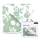 美國 Bebe Au Lait 經典棉紗被禮盒 (古典與現代花卉)