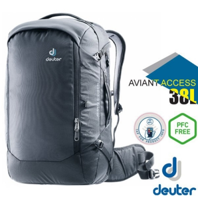 Deuter AVIANT ACCESS 38L 專業輕量多功能休閒背包_黑