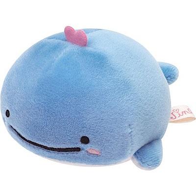 鯨鯊先生小藍鯨的夢系列掌心小公仔。小藍鯨San-X