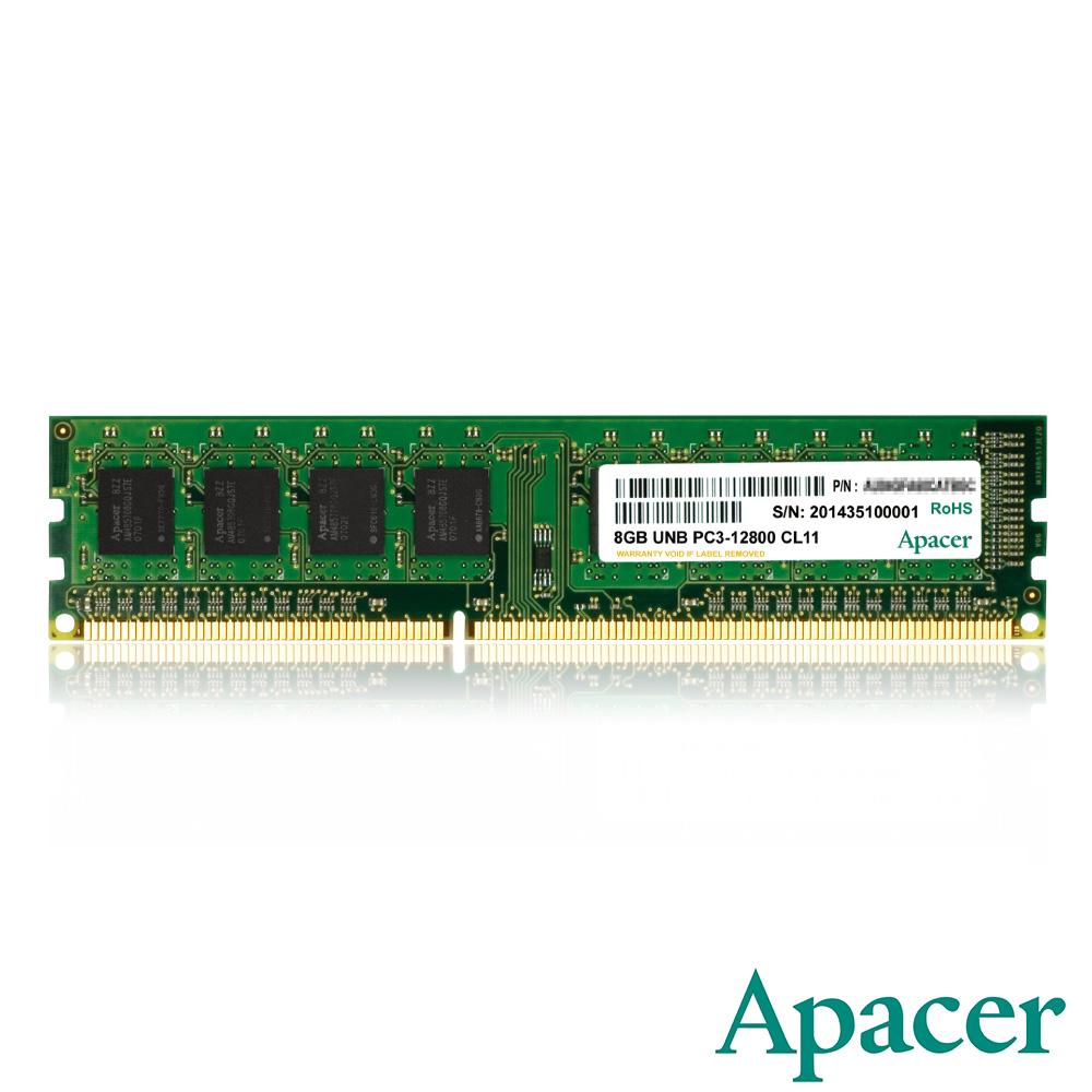 Apacer  8GB DDR3 1600 桌上型記憶體