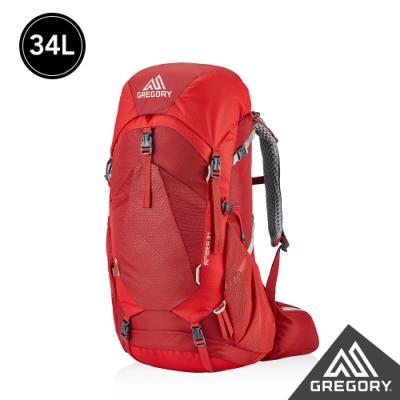 Gregory 女 34L AMBER 登山背包 火鶴紅