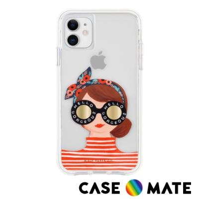 美國 Case●Mate x Rifle Paper Co. 限量聯名款 iPhone 11 防摔手機保護殼 - 美麗女孩