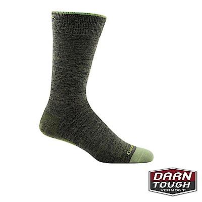 【美國DARN TOUGH】男羊毛襪SOLID CREW 生活襪(2入隨機)