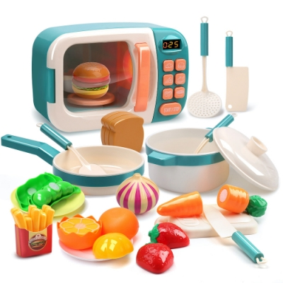 CuteStone 微波爐廚具套裝玩具