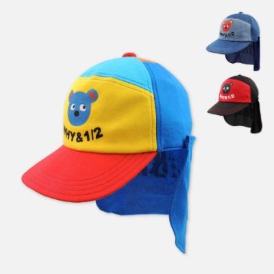 WHY AND 1/2 普普熊棒球帽-附可拆式遮陽擋片 多色可選