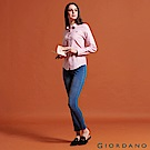 GIORDANO  女裝8139 超彈力激瘦牛仔緊身褲-01 中藍色