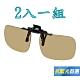 【Docomo】PC級夾式抗藍光太陽眼鏡 頂級設計 可夾在各類眼鏡框 超耐用 抗UV400 前掛式抗藍光新款 product thumbnail 1
