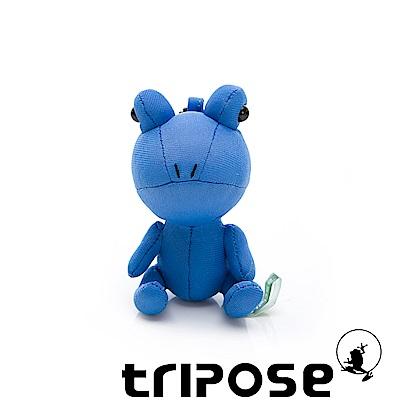 tripose 輕鬆生活吊飾-青蛙公仔 藍