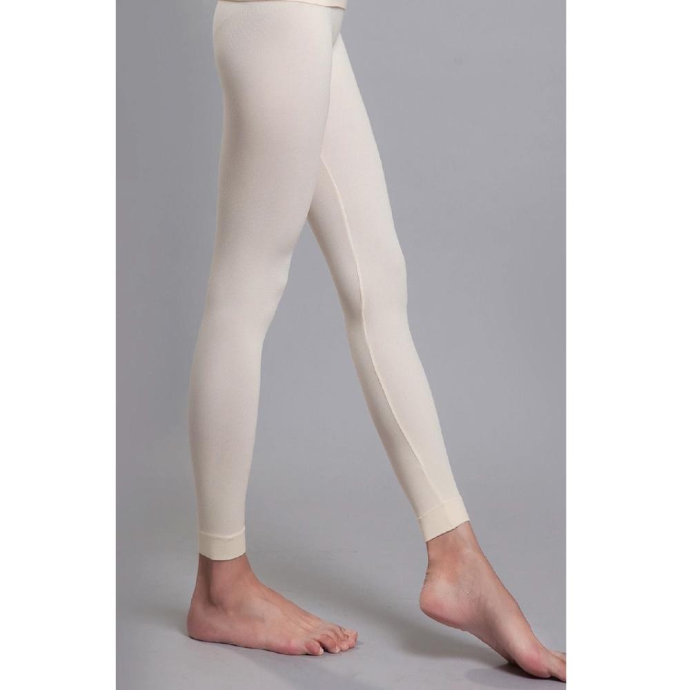 蒂巴蕾 天然暖 木漿棉 無縫親膚暖暖褲 香草米色