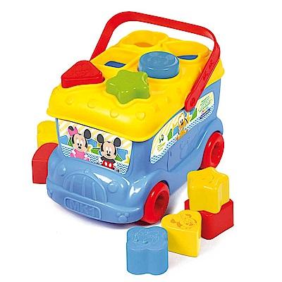 迪士尼 baby形狀配對巴士 (米奇/米妮-2款任選)