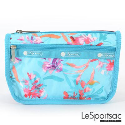LeSportsac - Standard旅行化妝包/收納包 (夏日花卉)