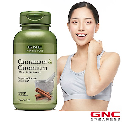 GNC健安喜 鉻 甜點控 避唐膠囊食品 60顆