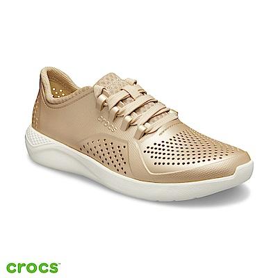 Crocs 卡駱馳 (女鞋) LiteRide徒步繫帶鞋 205235-99P