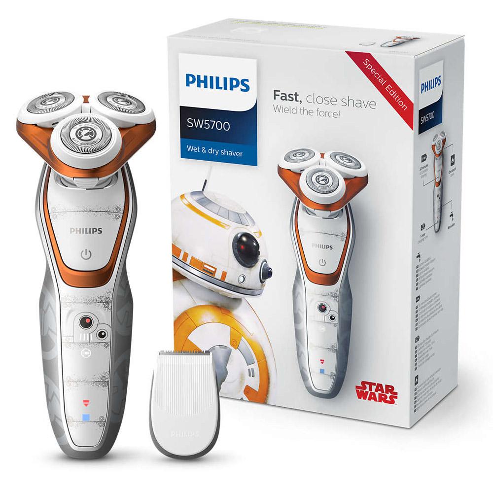 [送醇釀杯] 飛利浦星戰系列Star Wars BB-8電鬍刀/刮鬍刀SW5700/07