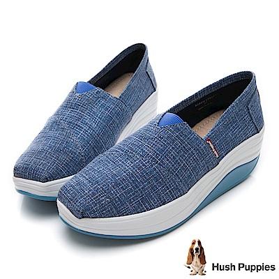 Hush Puppies Cormorant 直套式懶人鞋-藍