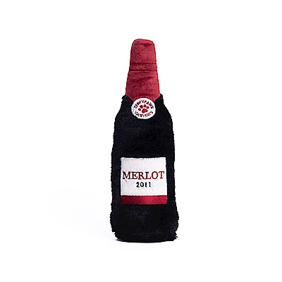 ZippyPaws歡樂時光瓶-沙沙紅酒  有聲玩具