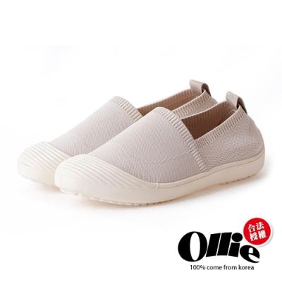 Ollie韓國空運-大人氣防踢頭好穿軟Q樂福懶人鞋-現貨+預購