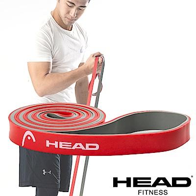 HEAD 雙色環狀阻力帶(中量級)-紅灰-寬2.1cm