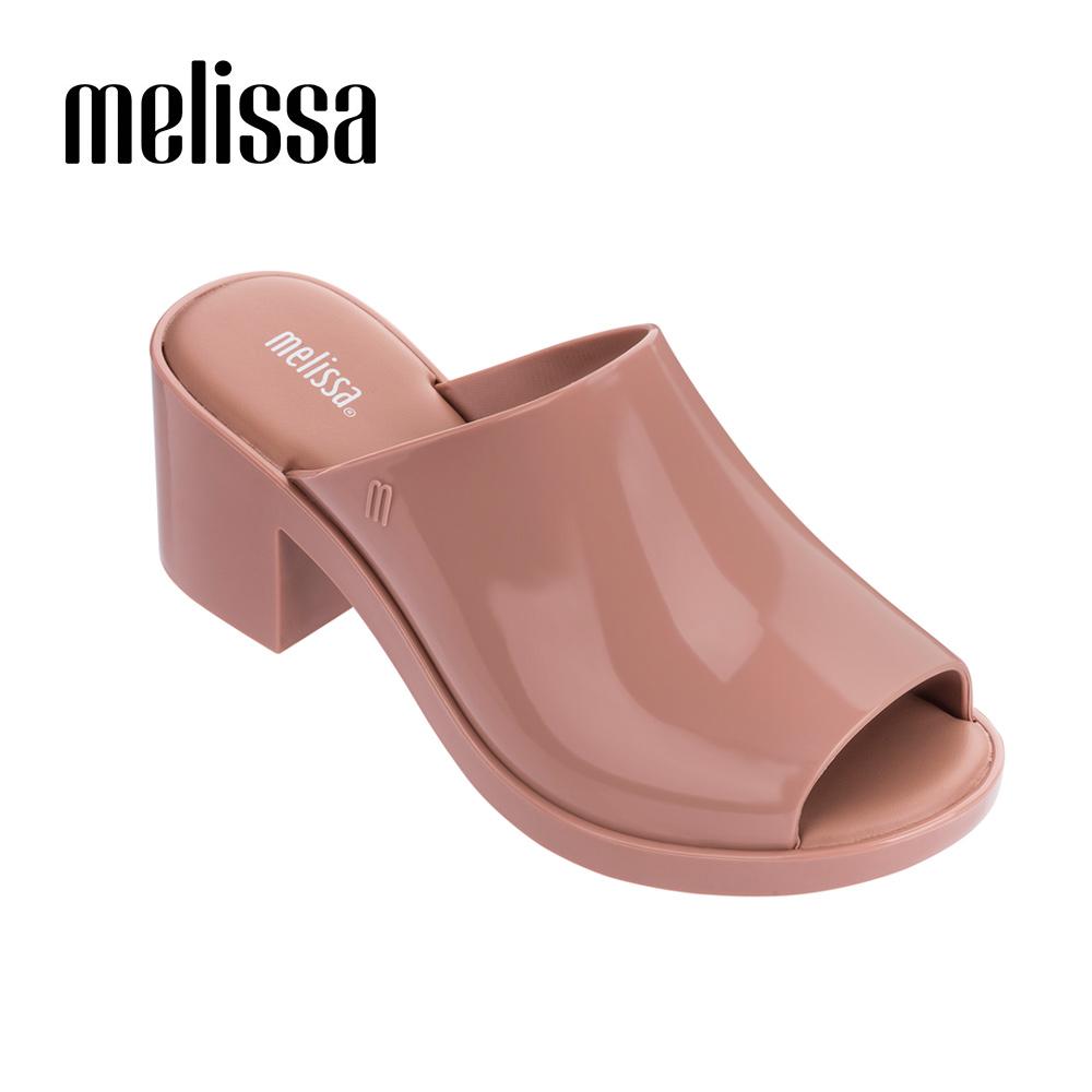 Melissa 經典款魚口涼鞋-粉色
