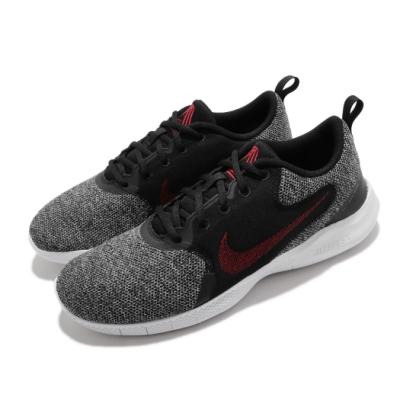 Nike 慢跑鞋 Flex Experience RN 男鞋 輕量 透氣 舒適 避震 路跑 健身 黑 紅 CI9960005