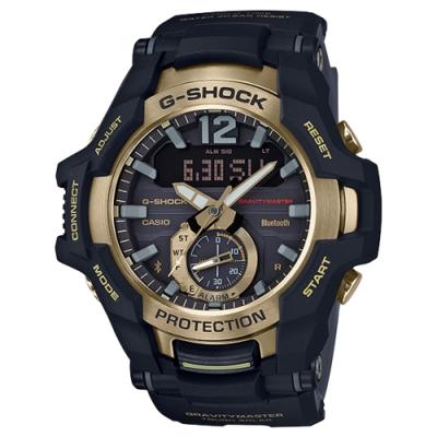 G-SHOCK 儀表板概念太陽能藍牙錶-霧面金(GR-B100GB-1A)/53.8mm