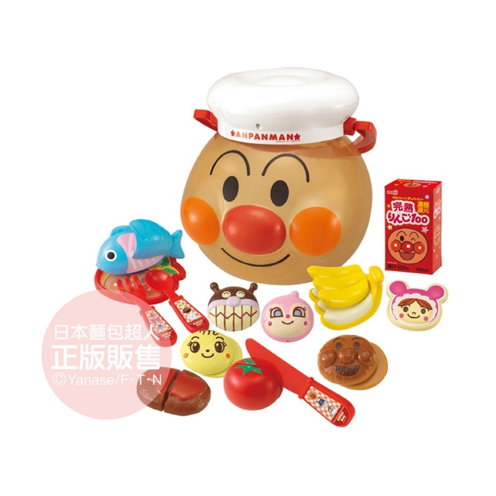 ANPANMAN 麵包超人-麵包超人玩具桶!扮家家酒玩具組(3Y+)