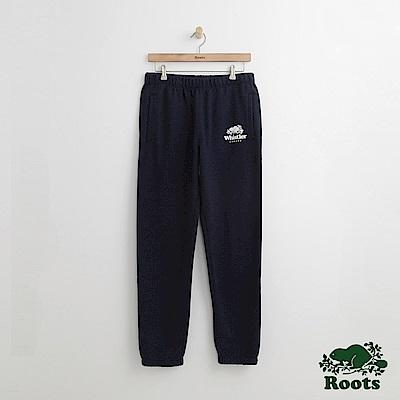 Roots 男裝-惠斯勒棉質長褲-藍色
