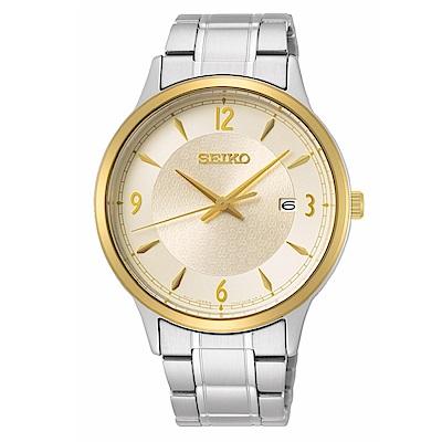 SEIKO精工 50周年紀念款三針男錶7N42-0GJ0Y(SGEH92P1)