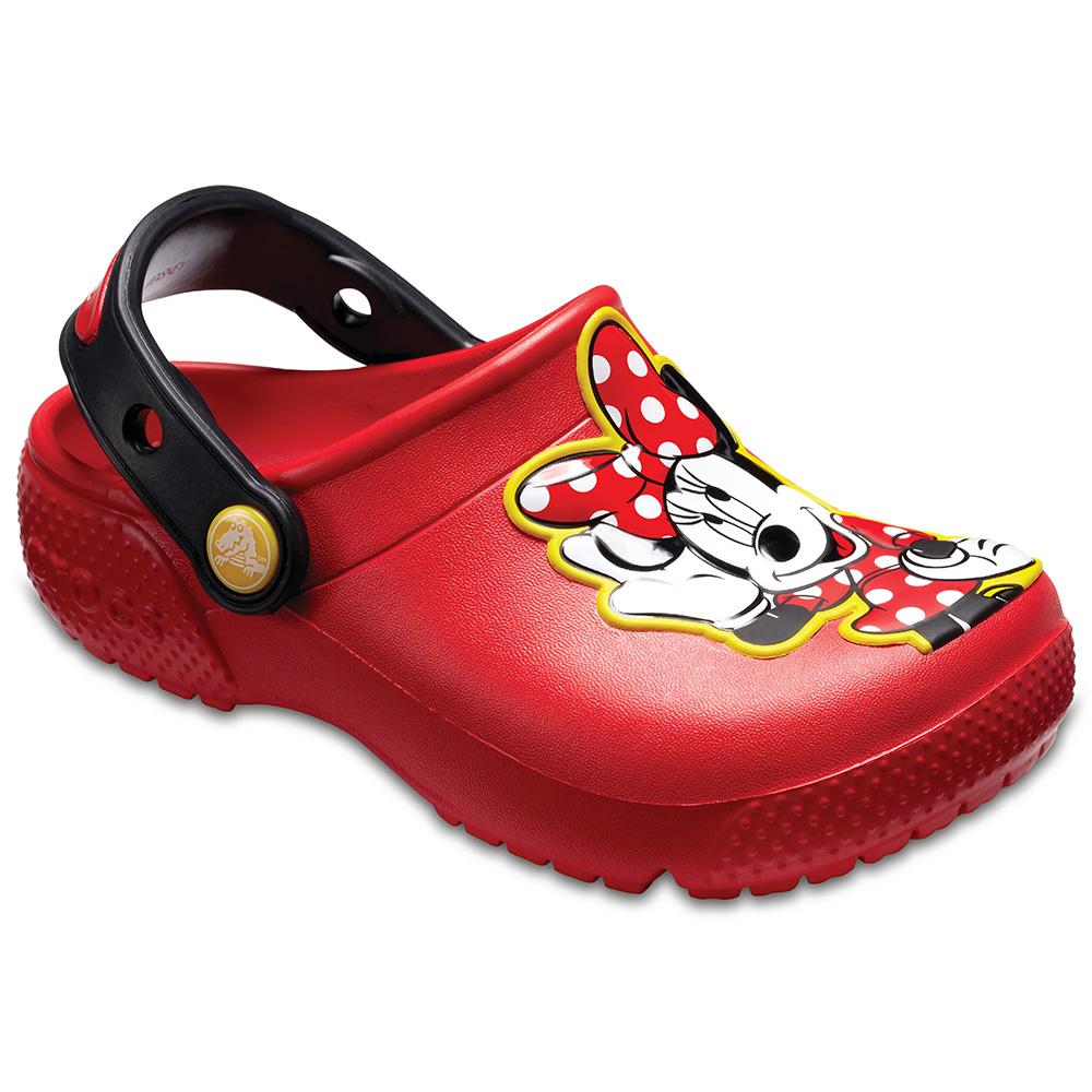 Crocs 卡駱馳(童鞋) 學院米妮小克駱格 204995-8C1