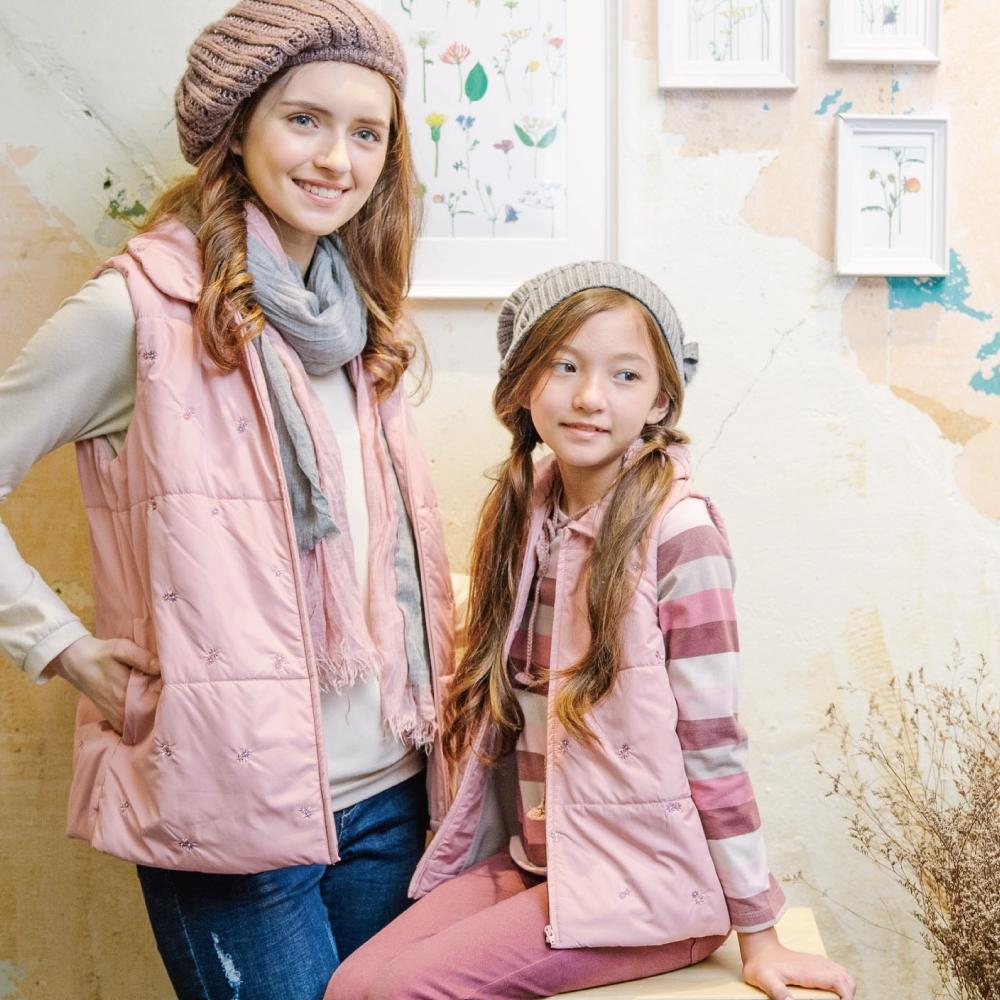 PIPPY 彩色條紋 圓領上衣 粉色