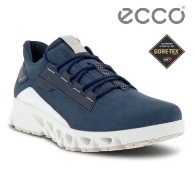 ECCO MULTI-VENT M 全方位城市戶外防水運動休閒鞋 男鞋 海洋藍/海軍藍