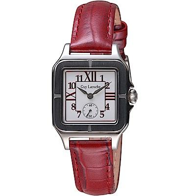 姬龍雪Guy Laroche Timepieces經典躍動時尚女錶(LW2027-08)
