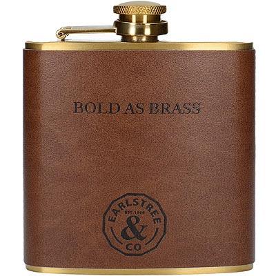 CreativeTops Earlstree銅色皮革隨行酒瓶(200ml)