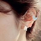 HERA赫拉-小雞蝴蝶小花無耳洞耳環/耳扣/耳骨夾-任選2對