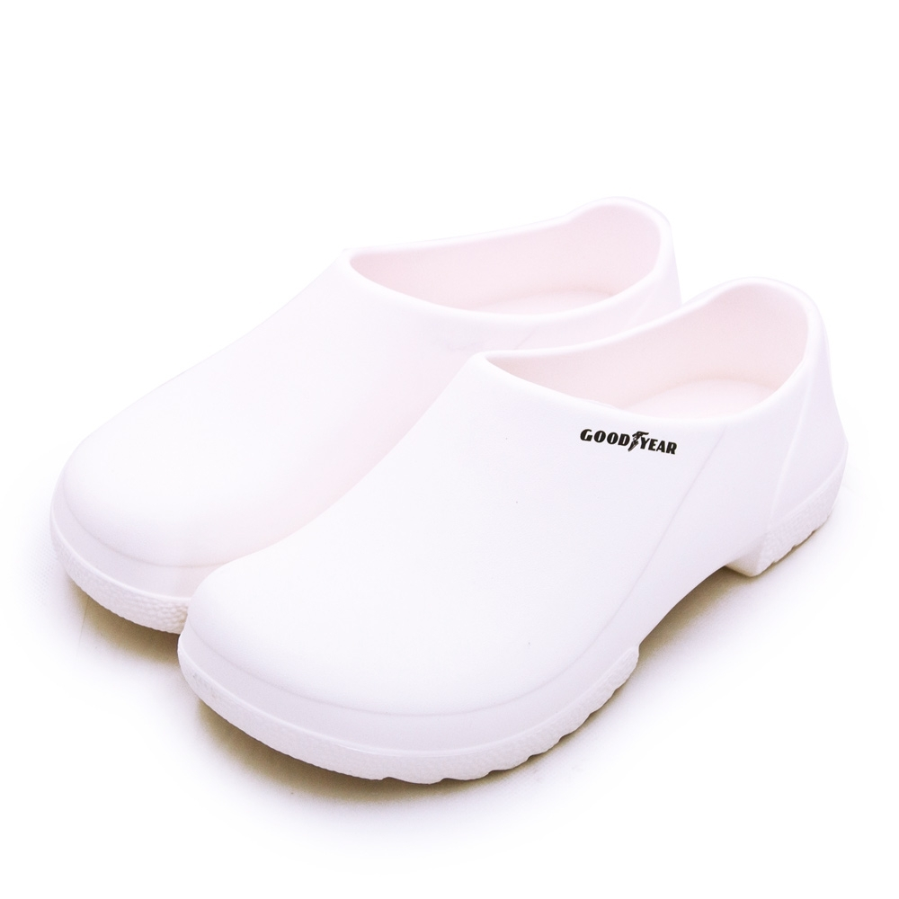 GOODYEAR 固特異輕量防水輕便多功能休閒鞋 白 73839