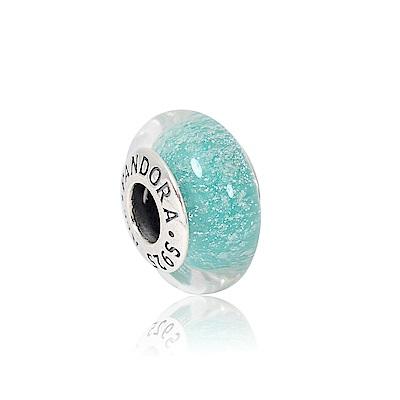 Pandora 潘朵拉 迪士尼系列綠色琉璃珠 純銀墜飾 串珠