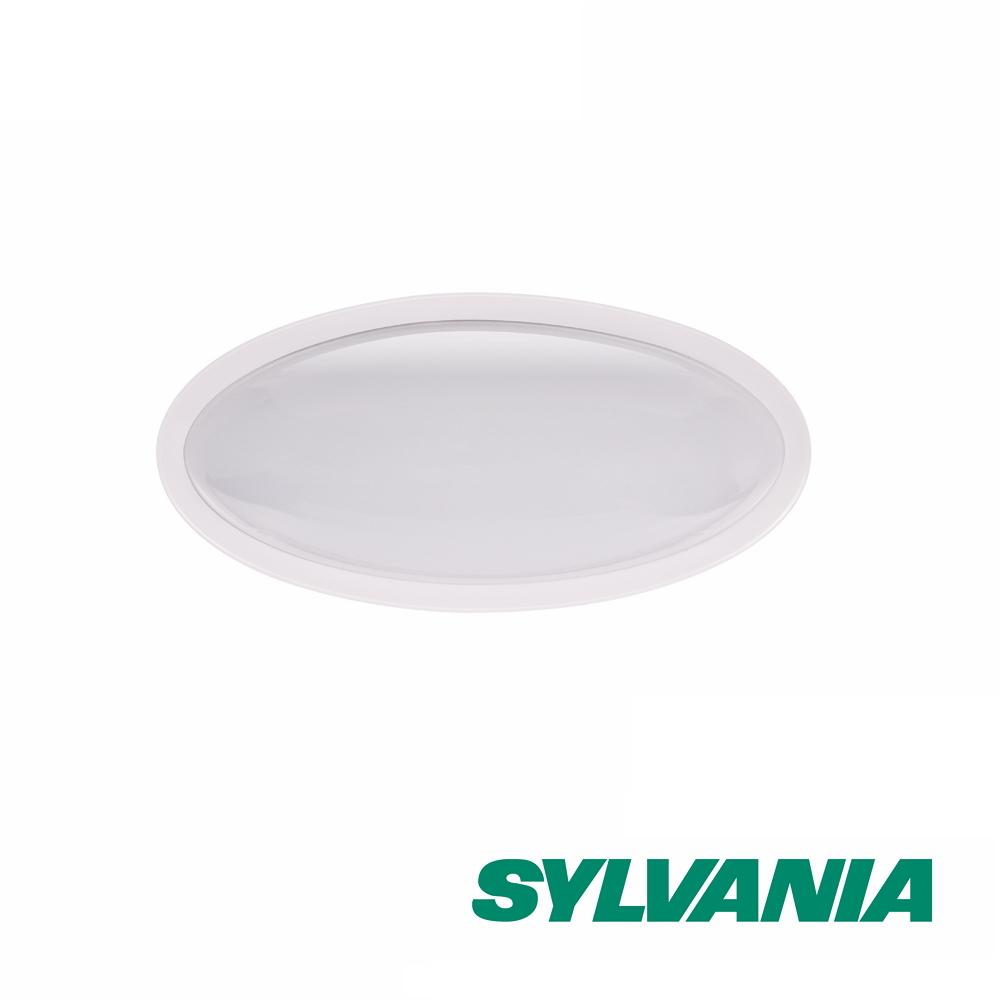 喜萬年SYLVANIA 10W LED橢圓型壁燈6000K全電壓-白光