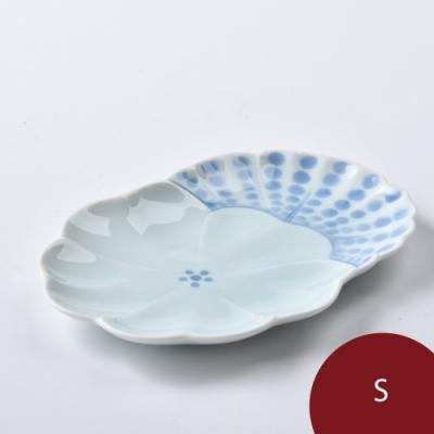 Hakusan 白山陶 農場動物 前菜餐盤 花 12cm