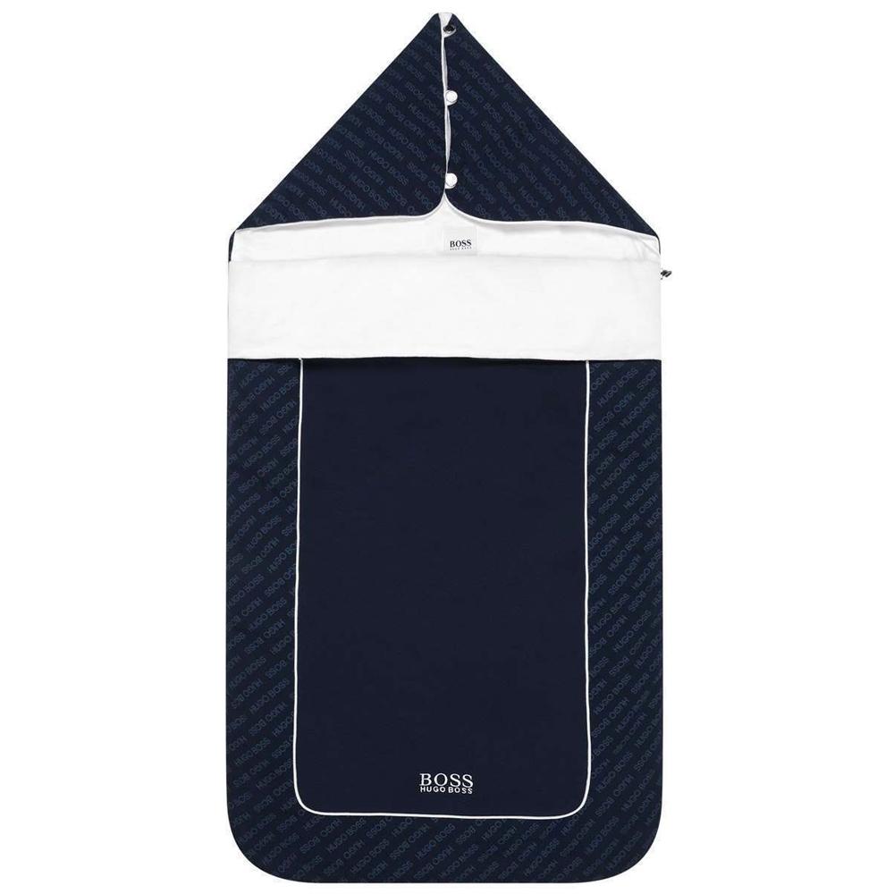 Hugo Boss 深藍Logo睡袋