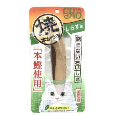 日本 CIAO 本鰹燒魚條 HK-03 吻仔魚風味 25g*1入