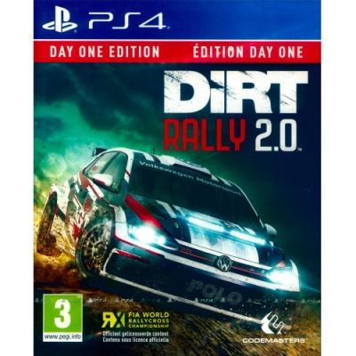 大地長征:拉力賽 2.0 首日版 DiRT Rally 2.0 - PS4 英文歐版