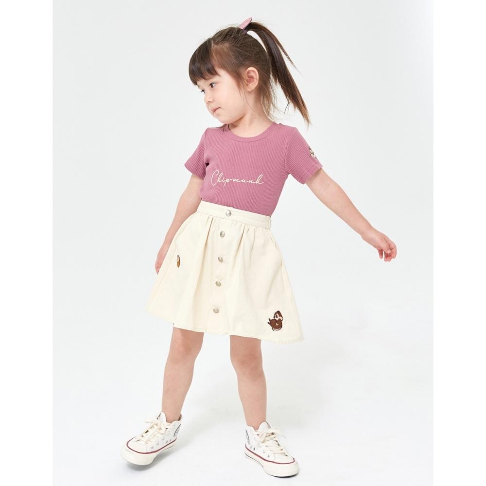 CACO-奇奇蒂蒂荷葉短裙-親子款-童【YDI038】