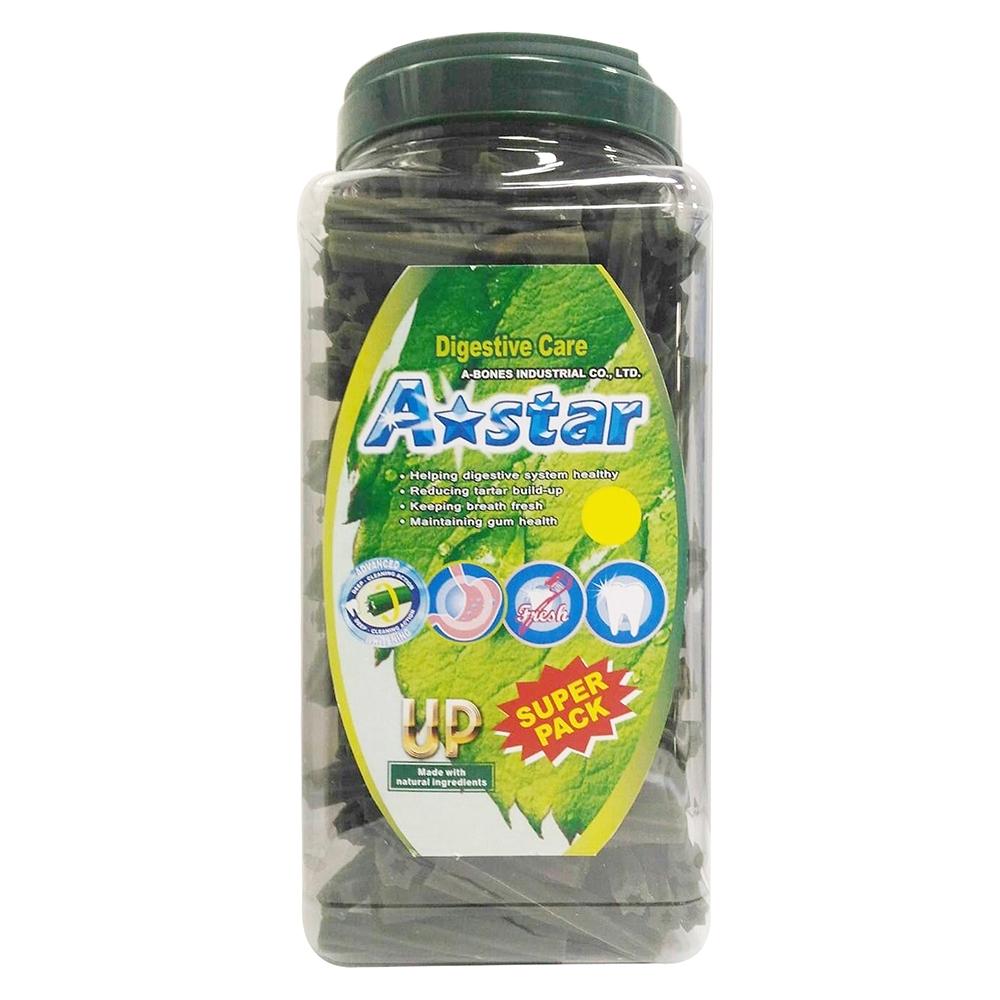 【A☆Star-Bones】A☆Star空心六星棒《健胃整腸》潔牙骨 2000g 超大桶裝