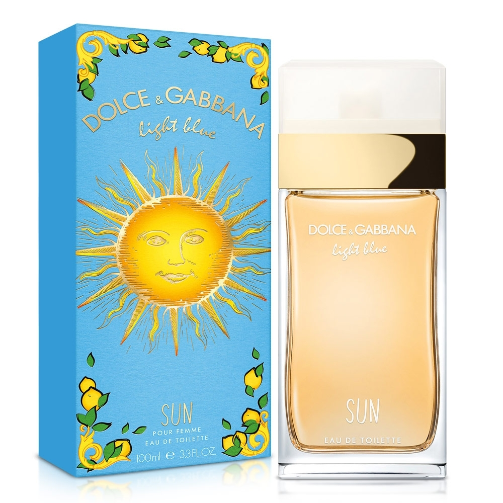 D&G Light Blue Sun Woman 陽光夏日女性淡香水100ml
