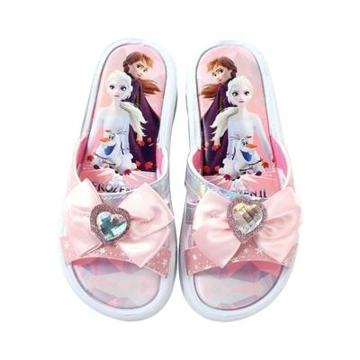 魔法Baby 女童鞋 台灣製冰雪奇緣正版涼拖鞋 sa14023