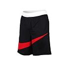 NIKE 男 籃球短褲 黑紅白