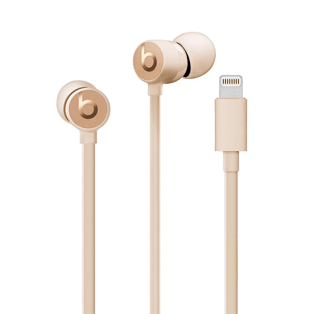Beats urBeats3 入耳式耳機Lightning(緞金)