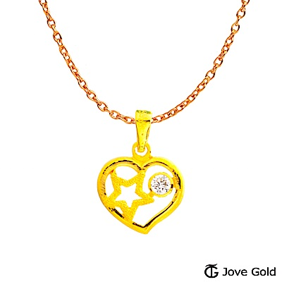 Jove gold 夢境黃金墜子 送項鍊