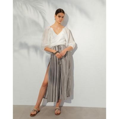 WAVE SHINE-二代 時尚綁帶造型罩衫-女【TWS177】